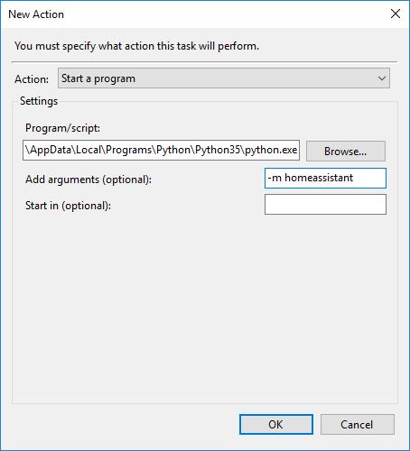 Autostart on Windows - Configuration - Home Assistant Community