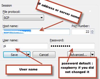 Access Denied saving configuration yaml using winscp