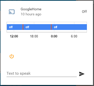 TTS on Google Home - plays chime but does not speak - Third party