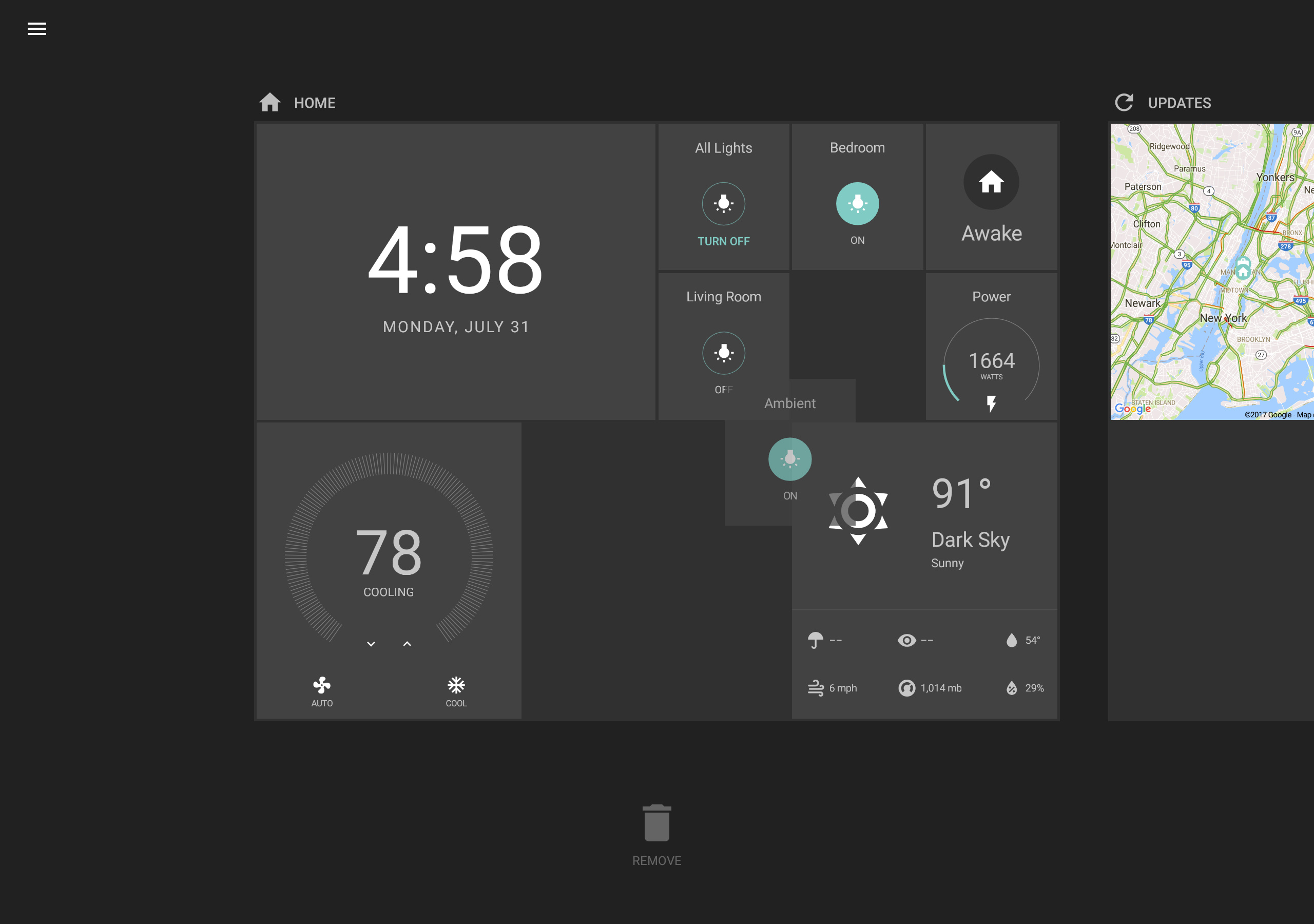 Hadashboard Home Assistant