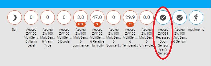 Zwave Door Sensor Not Updating The Frontend