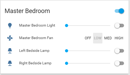 Custom UI with Buttons - Fan Control - Feature Requests