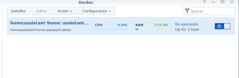 Yeelight not appear in HA using docker in synology NAS  The