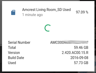 Amcrest Camera Sensor - What would be nice to have in your opinion