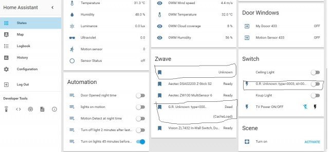 Zwave alarm recognize problem - Configuration - Home